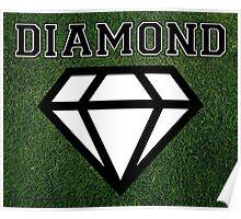 Diamond Grass Poster Poster