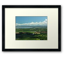 How Green Is The Valley Framed Print