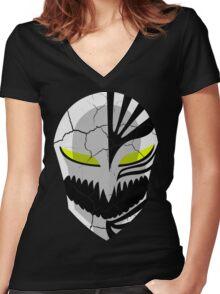 The Broken Mask Women's Fitted V-Neck T-Shirt
