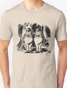 Tweedledum & Tweedledee Unisex T-Shirt