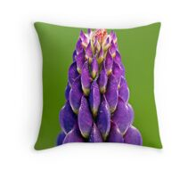 Lupin Dew Throw Pillow