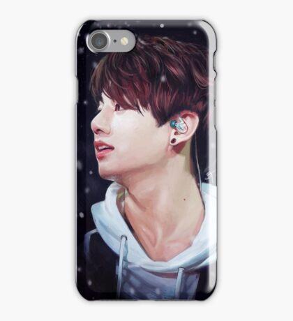Snowy Jungkook iPhone Case/Skin