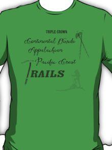 Triple Crown Of Hiking T-Shirt
