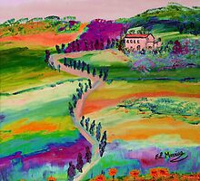 Tuscan countryside by Loredana Messina