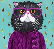 Cat's New Autumn Coat by Ryan Conners