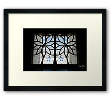 Through the Door Framed Print