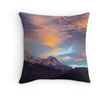 Himalayan Sunrise Throw Pillow
