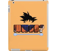 What would Goku do? iPad Case/Skin
