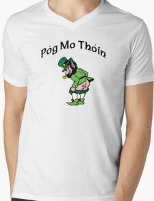 Pog Mo Thoin Mens V-Neck T-Shirt