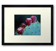 Fruitful Desert Framed Print