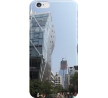 Architecture on the High Line, New York City's Elevated Park and Garden iPhone Case/Skin