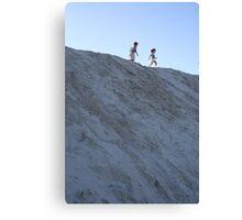 Dune Dancing Canvas Print