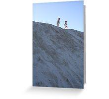 Dune Dancing Greeting Card