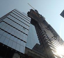 Hudson Yards Skyscraper Under Construction, Midtown West, New York City by lenspiro
