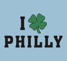I Love (Shamrock) Philly Kids Tee
