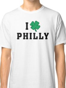 I Love (Shamrock) Philly Classic T-Shirt