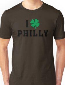 I Love (Shamrock) Philly Unisex T-Shirt