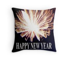 HAPPY NEW YEAR - 2011 Throw Pillow