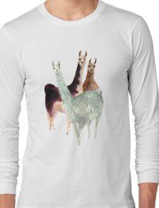 The Llama Posse Long Sleeve T-Shirt