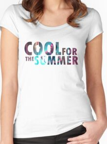 We're cool for the summer Women's Fitted Scoop T-Shirt