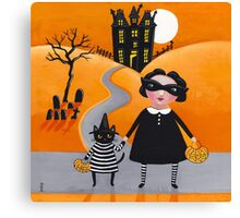 The Trick or Treaters Canvas Print