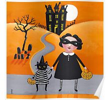 The Trick or Treaters Poster