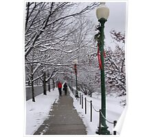 First snow of the season Poster