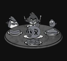 Angry Buffet- Angry Birds Parody Shirt Kids Clothes