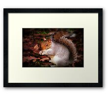 I'm too cute for words...©  Framed Print