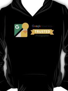 Google Street View Trusted Photographer T-Shirt