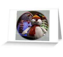The Snowmen (white) Greeting Card