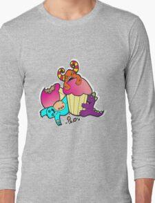 Monster cupcake overload Long Sleeve T-Shirt