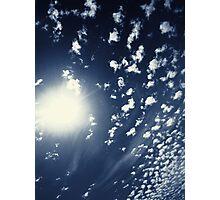 Cumulus Sun 2 Photographic Print