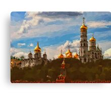 Ivan the Great Bell Tower Canvas Print