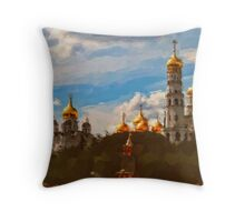 Ivan the Great Bell Tower Throw Pillow