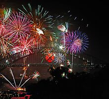Sydney | New Years Eve 2010 | Fireworks 9pm by Bill Fonseca