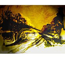 a sudden new morning glow.... Photographic Print