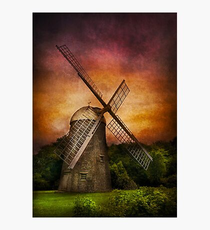 Other - Windmill Photographic Print