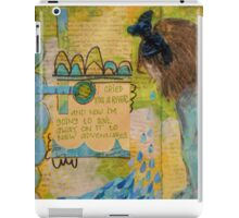 Sail Away to New Adventures iPad Case/Skin