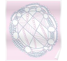 Pink Mandala Poster