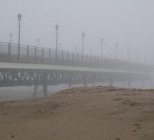 Pier the Fog - Skegness by Stephen Willmer