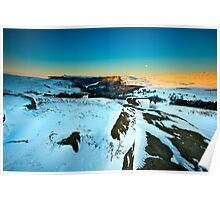 Sunrise Over Ladybower Poster