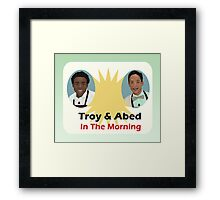 The Breakfast Show Framed Print