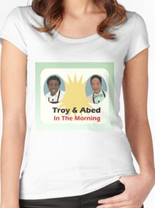 The Breakfast Show Women's Fitted Scoop T-Shirt