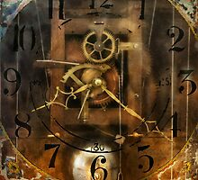 Clockmaker - A sharp looking time piece by Mike  Savad