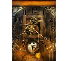Clockmaker - A sharp looking time piece Photographic Print