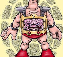Brain in Robot Man by webninja