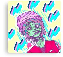 aber-zombie and fitch Canvas Print
