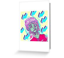 aber-zombie and fitch Greeting Card