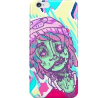 aber-zombie and fitch iPhone Case/Skin